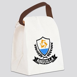 Anguilla Caribbean Canvas Lunch Bag