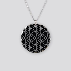 Flower of Life Big Ptn LG/B Necklace Circle Charm