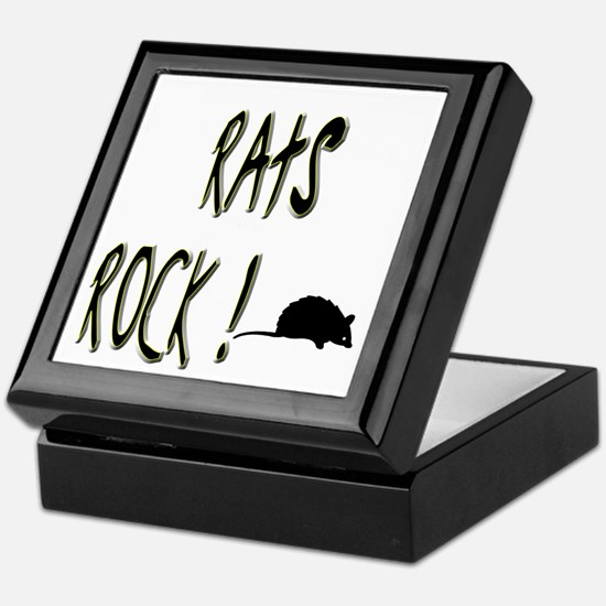 Rats Rock ! Keepsake Box