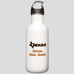 Texas Primary School T Stainless Water Bottle 1.0L
