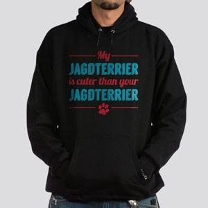 Cuter Jagdterrier Hoodie (dark)