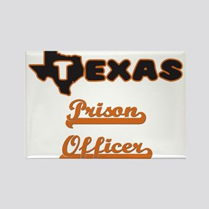 Texas Prison Officer Magnets