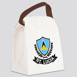 Saint Lucia Canvas Lunch Bag
