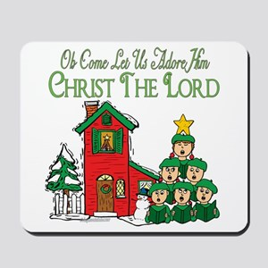 Christmas Carol Series Mousepad