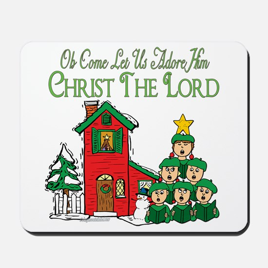 Christmas Carol Series Mousepad