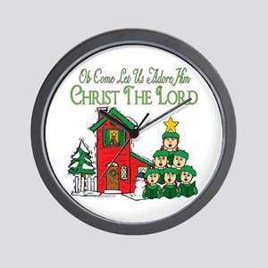 Christmas Carol Series Wall Clock