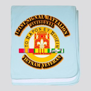 121st Signal Battalion (Divisional) w baby blanket