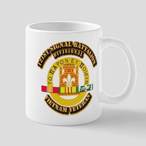 121st Signal Battalion (Divisional) wit Mug