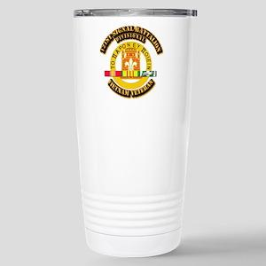 121st Signal Battalion Stainless Steel Travel Mug