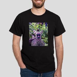 Laughing purple zebra T-Shirt