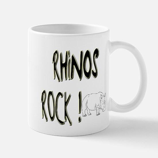 Rhinos Rock ! Mug