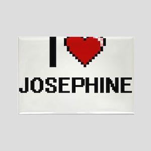 I Love Josephine Digital Retro Design Magnets