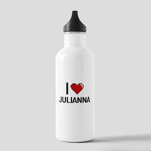 I Love Julianna Digita Stainless Water Bottle 1.0L