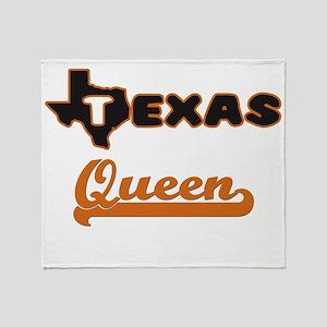 Texas Queen Throw Blanket