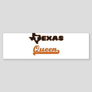 Texas Queen Bumper Sticker