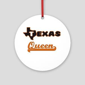Texas Queen Ornament (Round)