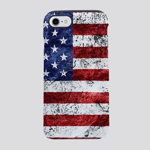 Grunge American Flag iPhone 7 Tough Case