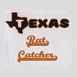 Texas Rat Catcher Throw Blanket