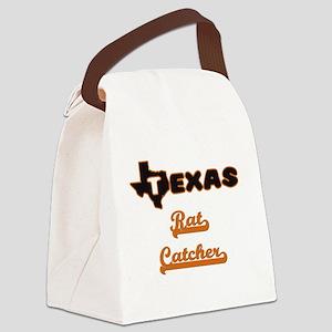 Texas Rat Catcher Canvas Lunch Bag