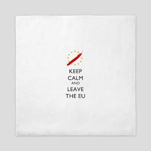 Keep Calm and Leave the EU Queen Duvet