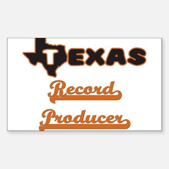 Texas Record Producer Decal