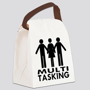 MFM Multitasking Canvas Lunch Bag