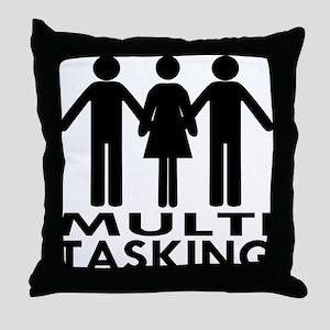 MFM Multitasking Throw Pillow