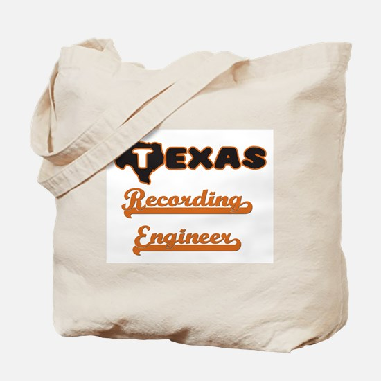 Texas Recording Engineer Tote Bag