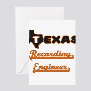 Texas Recording Engineer Greeting Cards