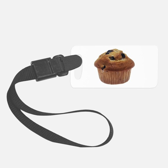 Blueberry Muffin Luggage Tag