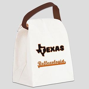 Texas Reflexologist Canvas Lunch Bag