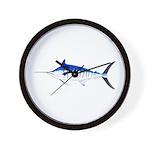 Blue Marlin v2 Wall Clock