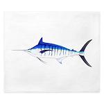 Blue Marlin v2 King Duvet