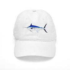 Blue Marlin v2 Baseball Cap