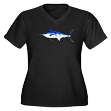 Blue Marlin v2 Plus Size T-Shirt