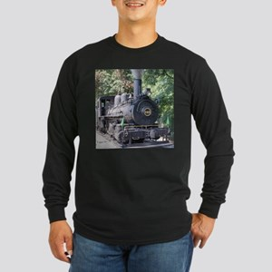 steam train close up shot Long Sleeve T-Shirt