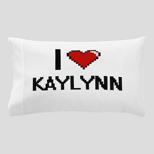 I Love Kaylynn Digital Retro Design Pillow Case