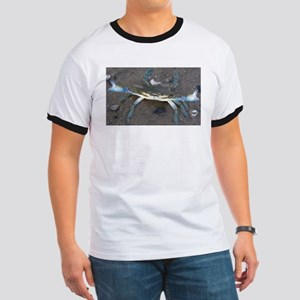 Cape Cod blue tip crab in the tidal pools T-Shirt