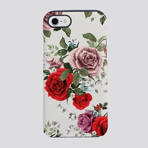 Vintage Roses iPhone 7 Tough Case