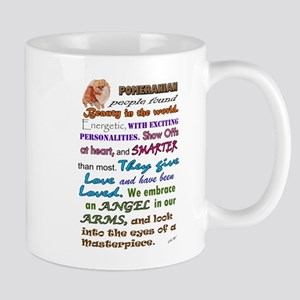 Pomeranian Slogan Mugs