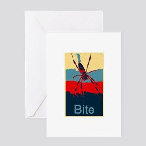 Bite me SPider Greeting Cards