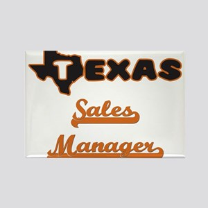 Texas Sales Manager Magnets
