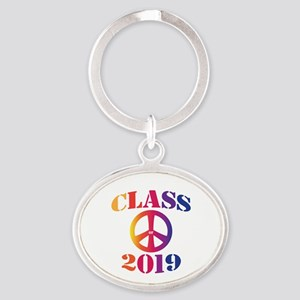 Class of 2019 Oval Keychain