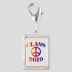 Class of 2019 Silver Portrait Charm