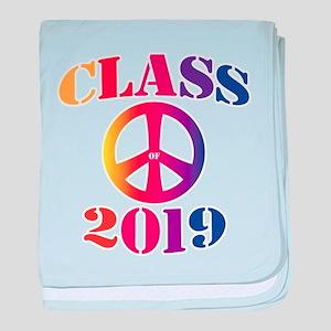 Class of 2019 baby blanket