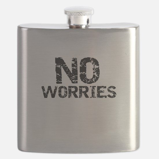 Funny Worries Flask