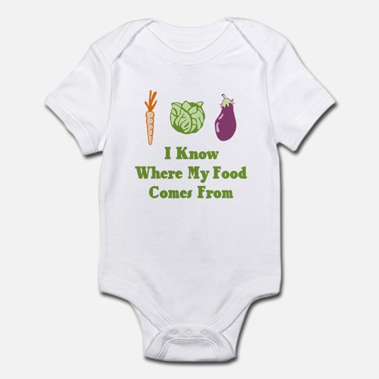 My Food Infant Bodysuit