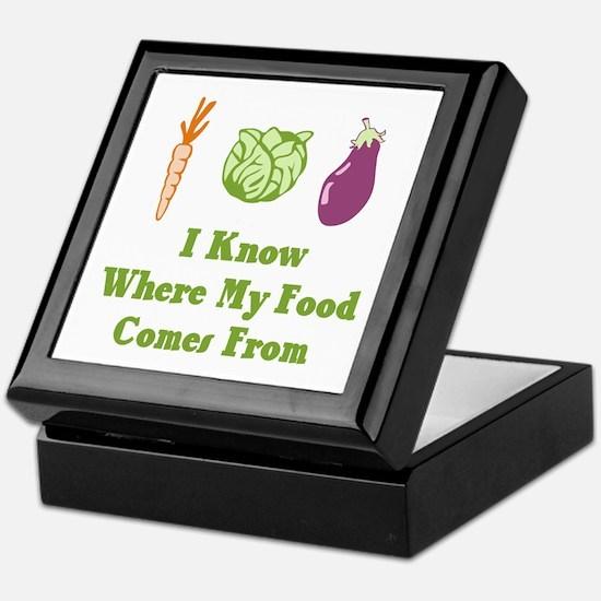 My Food Keepsake Box