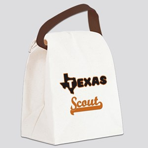Texas Scout Canvas Lunch Bag