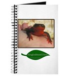 Rough Skinned Newt Salamander Journal